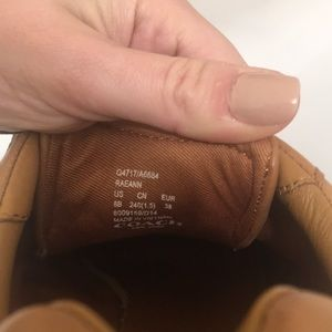 Coach Shoes - Coach leather Raenn trainers